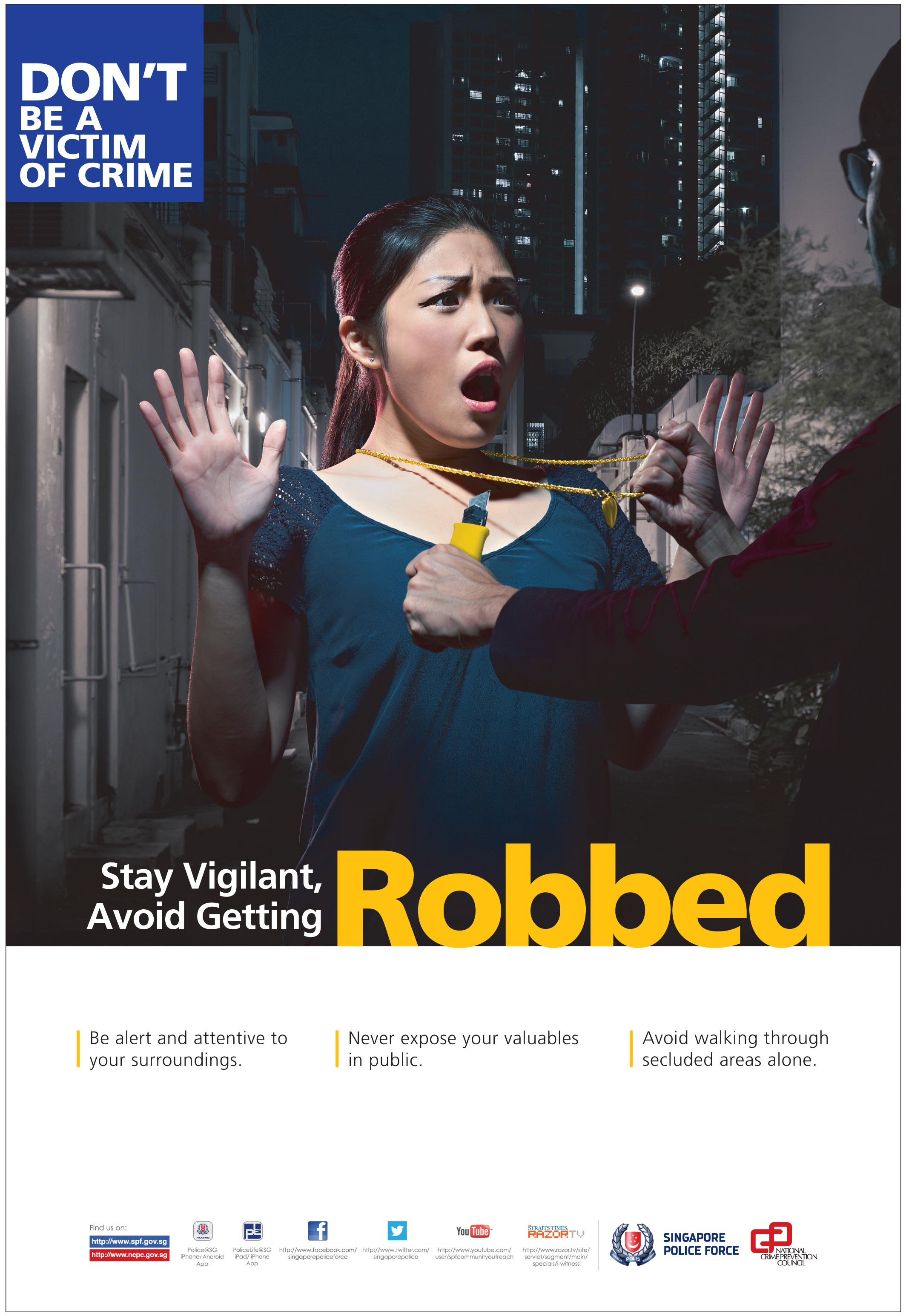 Crime Prevention Posters